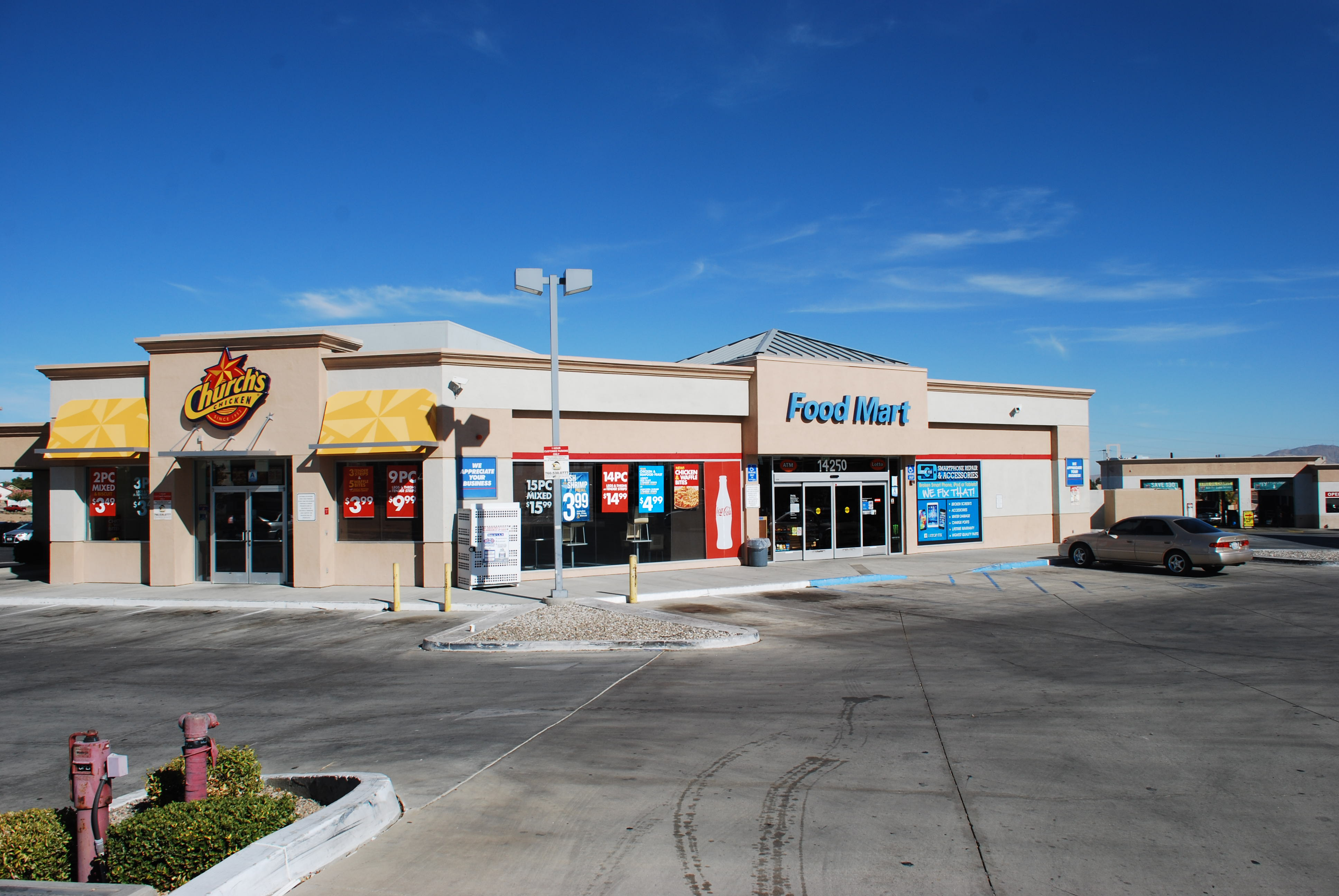 Gas Station With Property For Sale In Las Vegas